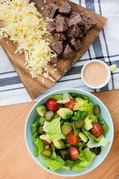 Cheeseburger salad..skinnytaste recipe