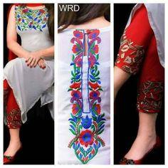 Latest Salwar Kameez Designs, Kurta Designs, Blouse Designs, Punjabi Dress, Pakistani Dresses, Indian Dresses, Pakistani Casual Wear, Pakistani Fashion Party Wear, Beautiful Frock Design