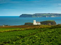 Ballintoy Church and Rathlin Island by Stefan Friedhoff on 500px