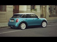 INTRODUCING THE NEW MINI. NOW WITH 5 DOORS. - YouTube My Dream Car, Dream Cars, Cooper Car, John Cooper Works, Car Wallpapers, Small World, Ad Design, Designer Wallpaper, Cool Cars