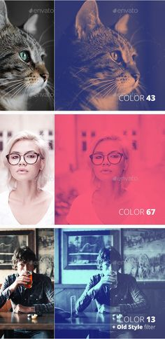 The duotone effect, which uses two colors overlayed atop a photo, has been around since the inception of professional photography but has only recently been successfully resurrected by designers and photographers. If you would like to make a big duotone color impact, try this Duotone Color FX PSD Template