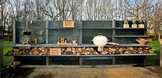 The innovative Wwoo outdoor kitchen