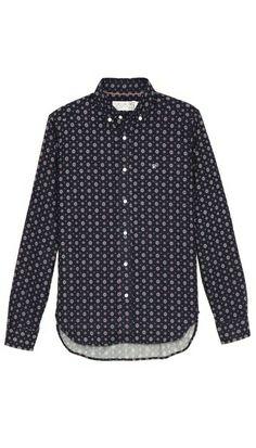 Shipley & Halmos Booster Medallion Shirt. $235.00. #fashion #men #shirt