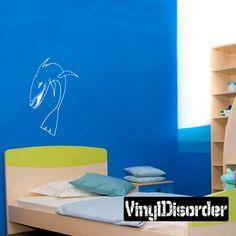 Shark Wall Decal - Vinyl Decal - Car Decal - CF043