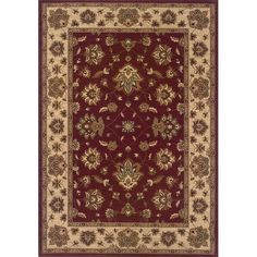 Style Haven Astoria /Ivory Traditional Area Rug