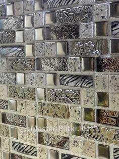 Фартук из мозаики на кухне - фото работ