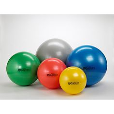 Theraband Standard Exercise Ball We use them in our office everyday & they are also available for purchase!