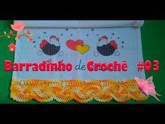 Barradinho de Crochê #03 - YouTube