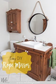 Rope mirror | Tutori