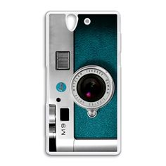 Vintage retro Camera Leica M9 Blue Sony Xperia Z case $18.89 #etsy #Accessories #Case #cover #CellPhone #SonyXperiaZ #SonyXperiaZcase #Sony #classic #vintage #silvercamera #leicam9 #cameraretro #photography #digitalrangefindercamera