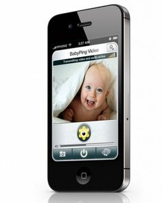 BabyPing, the iPhone baby monitor.