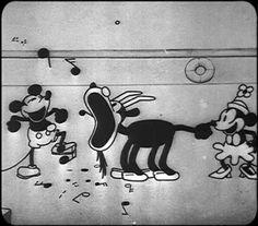 Steamboat Willie Cartoon