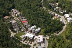 HUMAN SPACES: The biophilic approach to building communities (Jan. 2015) Steve Nygren, developer-Declarant of the HOA master plan for Serenbe, Chattahoochee GA |  image, the wooded Selborne neighborhood