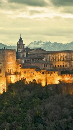 The Alhambra - Granada, Spain build by the Moors (Arabs) apx 1,300 years ago conquered in 1492 by Queen Isabella  Ferdinand, bring it into Catholic rule under them.  The last stronghold of the Moors in Spain which lasted apx 800 years.