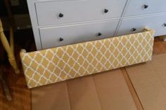 Custom Cornice for Less Than $30 : 11 Steps (with Pictures) - Instructables Window Cornice Diy, Cornice Box, Window Cornices, Window Coverings, Window Treatments, Cornice Boards, Box Valance, Deco Furniture, Handmade Furniture
