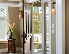 traditional entry by Dorothy Howard AIA, Architect ENTRY ACCENT