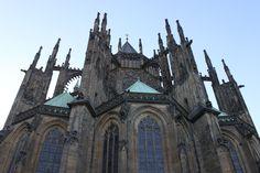 Saint Vitus Cathedral -- Prague, Czech Republic