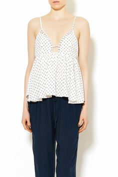 Anchor Print Tank. Pair with light-wash jeans and flats and you're ready to go!   Anchor Tank Blouse by Joyce. Clothing - Tops - Sleeveless Clothing - Tops - Tees & Tanks Illinois