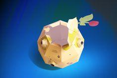 Embalagem asteroide B612 personalizada por @peuart