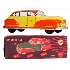 c.1946 Wolverine, No.33 Mystery Taxi in Original Box