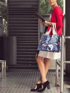 Kaki Lima: Her Morning Charm with the Luca Blue Note Gallery Tote