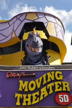 Ripley's Moving Theater 5D in Gatlinburg, Tennessee!
