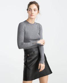 Image 2 of ROUND NECK SWEATER from Zara