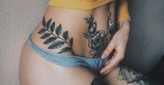 MERNUR hopes these 50 Most Stunning and Amazing Stomach Tattoo, Abdomen Tattoo, C-section Scar Tattoo for Women that can help you out. We hope you like this collection. Lower Belly Tattoos, Stomach Tattoos Women, Tummy Tuck Tattoo, Tummy Tuck Scars, Body Art Tattoos, Hip Tattoos, Flower Tattoos, Tatoos, Tatouage Abdomen