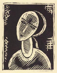 Josef Čapek Dívka I. linořez, 19 x cm Cubism, Printmaking, Modern Art, Portraits, Graphics, Graphic Design, Words, Artist, Prints