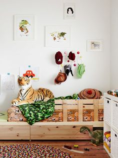 chambre enfant jungle
