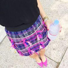 """Sydney // Summer Wind Blog on Instagram: """"Pink tweed to brighten the day! @liketoknow.it www.liketk.it/1JMsH #liketkit"""""""