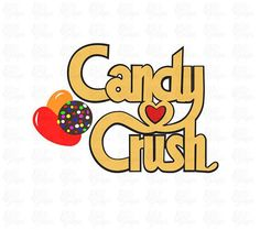 Candy Crush SVG File or DXF File How To Make Signs, Svg File, Vinyl Decals, Filing, Crushes, Cricut, Punch Art