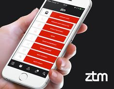 "Check out new work on my @Behance portfolio: ""App concept for ZTM"" http://on.be.net/1NRhIQD"