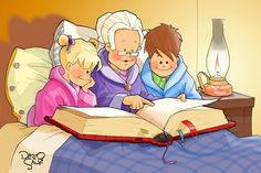 GRANDPARENTS and GRANDCHILDREN  Are SPECIAL PEOPLE      This is absolutely precious!Be sure to pass it on to all the grandparen