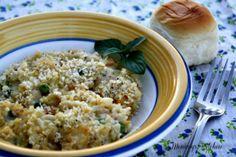 Mommy's Kitchen: Copy Cat Stouffers Grandma's Chicken & Rice Bake