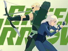 Green Arrow & Black Canary - Mro16.deviantart.com