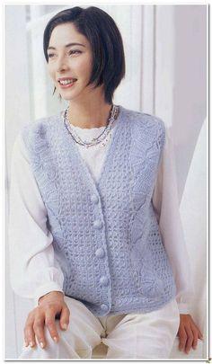 Crochet para la Mujer | Entradas con la etiqueta de ganchillo para las mujeres | Blog Ageeva_Tania: LiveInternet - Servicio ruso en línea Diarios Crochet Books, Summer Patterns, Rubrics, Crochet Clothes, Free Pattern, Knitting Patterns, Sweaters, Collection, Women