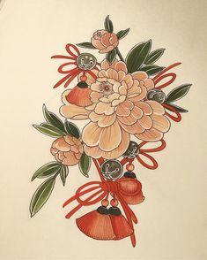 Mini Tattoos, Love Tattoos, Body Art Tattoos, Small Tattoos, Japanese Art Styles, Japanese Tattoo Designs, Traditional Tattoo Sketches, Lotus Tattoo Design, Special Tattoos