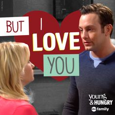Awwwe! | Young and Hungry Quotes