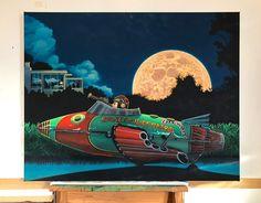 Schedule of Exhibitions - Jones the Painter Moon Patrol, Bape Vans, Supreme Lv, Gucci Nike, Vans Old Skool, New Zealand, Behind The Scenes, November 2019, Exhibitions