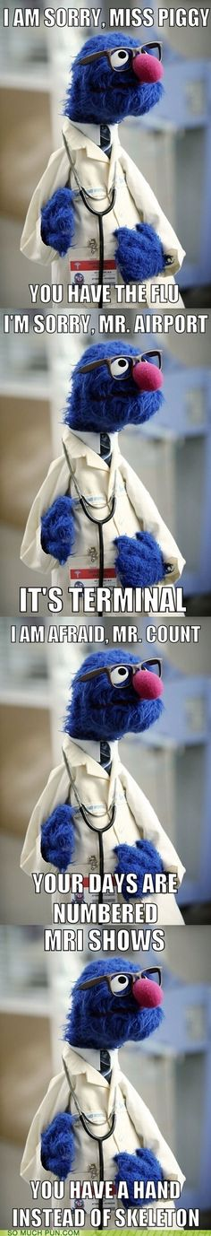 i love muppets medical humor