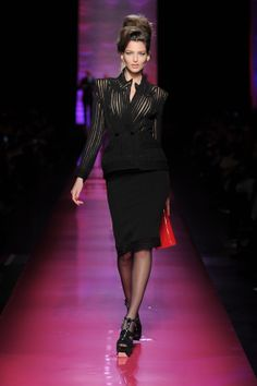 Mouna's suit Spring-Summer collection no 3-It Took Me By Surprise a hommage to Amy Weinhaus by Jean-Paul Gaultier
