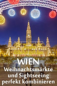 wiener weihnachtsm rkte 6 tipps f r touristen um die sehensw rdigkeiten in wien stressfrei mit. Black Bedroom Furniture Sets. Home Design Ideas
