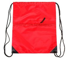 Simplicity Lightweight Polyester Drawstring Backpack Sports Citch Pocket -- Check out the image by visiting the link.