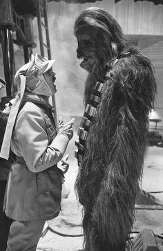 Chewie and major derlin (aka Mr John Ratzenberger)