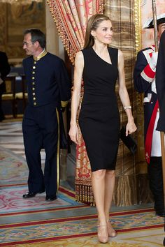 Princess Letizia of Spain attends a meeting with members of the 'Principe de Asturias Foundation' at the Royal Palace, 10.06.2014 in Madrid, Spain