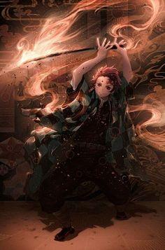 Natsuki Hanae in Demon Slayer: Kimetsu No Yaiba Demon Slayer, Slayer Anime, Animes Wallpapers, Cute Wallpapers, Hd Wallpaper, Dark Fantasy, Fantasy Art, Manga Art, Anime Art