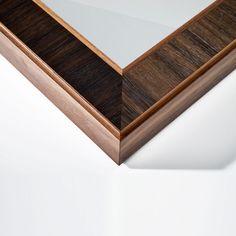 Luxury Mirrors | Square | Evolution | LINLEY | Luxury Gifts & Homeware, Furniture, Interior Design, Bespoke