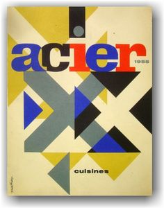 ♥ Jacques Nathan Garamond - Cover for the Magazine 'Acier'