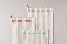 Farmhouse Dishtowels | Purl Soho Knitted Dishcloth Patterns Free, Beginner Knitting Patterns, Knit Dishcloth, Knitting Stitches, Knitting Projects, Crochet Patterns, Craft Projects, Farmhouse Dishtowels, Baby Patterns
